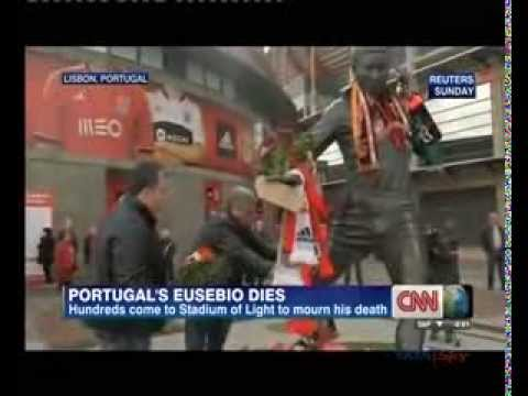 Portuguese football great Eusebio dies