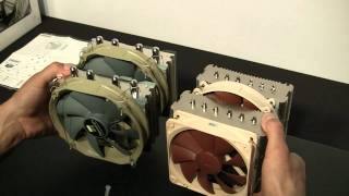 Thermalright Silver Arrow vs. Noctua NH-D14 with Overview