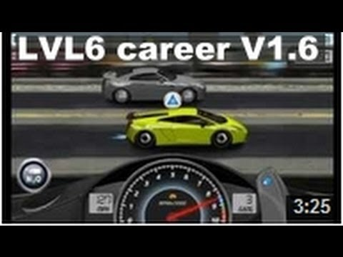 Drag Racing win level 6 career Lamborghini Gallardo LP 570 4 SL with 1 tune setup V1.6