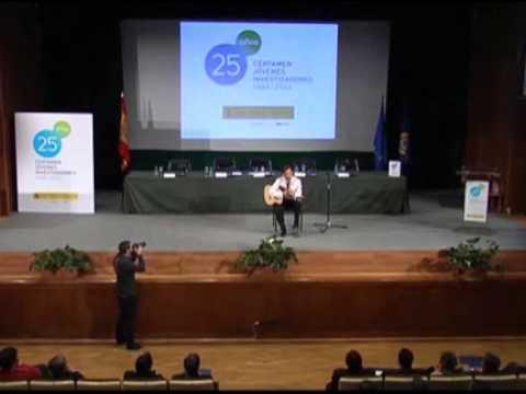 Presentación del concierto 25 años del Certamen Jóvenes Investigadores