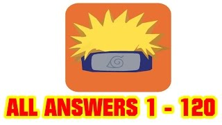 Quiz For Naruto Shippuden All Level Answers 1 - 120 ( DGame Studio )