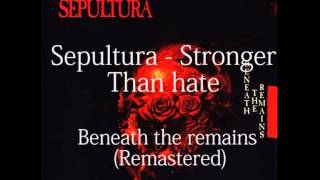 Watch Sepultura Stronger Than Hate video