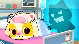Baby Kitten Hates Hospitals | Sick Song | Doctor Cartoon | Kids Songs | Baby Cartoon | BabyBus