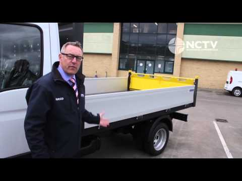 New Iveco Daily Dropside Tipper Review