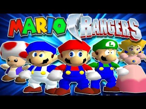 SMG4: Mighty Morphin' Mario Rangers