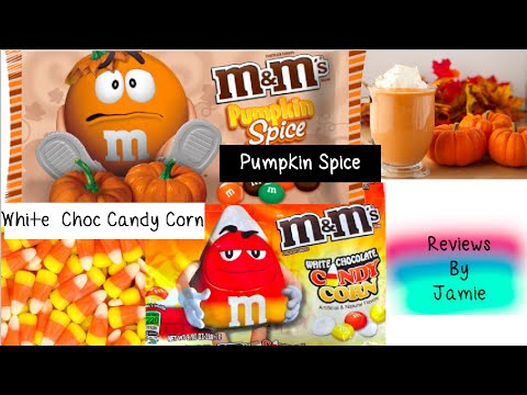 M&M's Halloween Review: Candy Corn & Pumpkin Spice