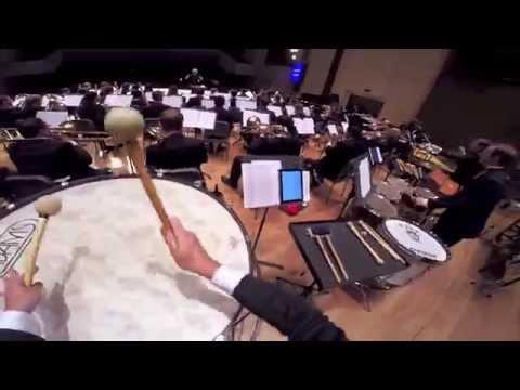 Mackey: Wine-Dark Sea (last two minutes, percussionist POV)