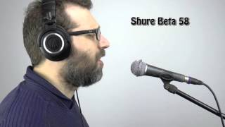 how to tell if shure sm 58 is fake