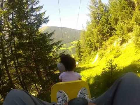 Alpine Coaster (Sommerrodelbahn) - Mieders. Austria