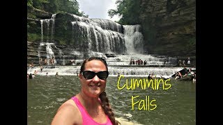 Cummins Falls in Cookeville, Tennessee