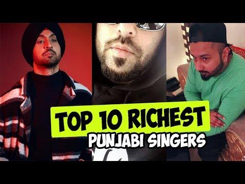 Top 10 Punjabi Richest & Highest paid Singers   PunjabiReel.in