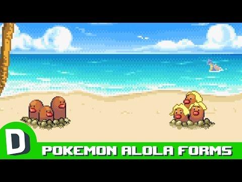 If Pokemon Met Their Alola Forms