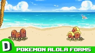 If Pokemon Met Their Alola Forms