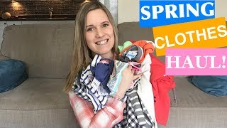 KIDS' CLOTHING HAUL! | SPRING OUTFITS 2018