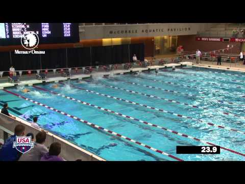 Men's 100m Freestyle B Final - 2012 Columbus Grand Prix
