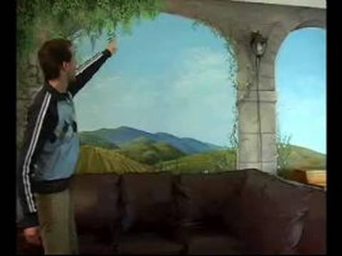 How to paint wall murals composition tips for a wall for Airbrush mural painting