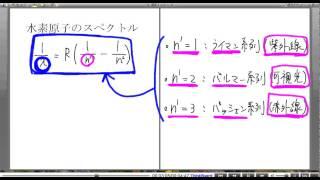高校物理解説講義:「ボーアの原子模型」講義9