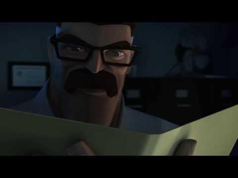 """2 - """"Broken"""" BEWARE THE BATMAN Episode # 5 Animated Cartoon Network TV Series"""