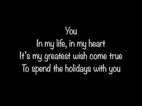 Jim Brickman Ft Jane Krakowski - You (Holiday Version) W/lyrics