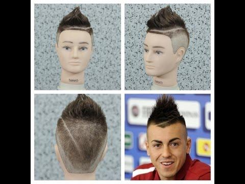 Stephan El Shaarawy Haircut Tutorial