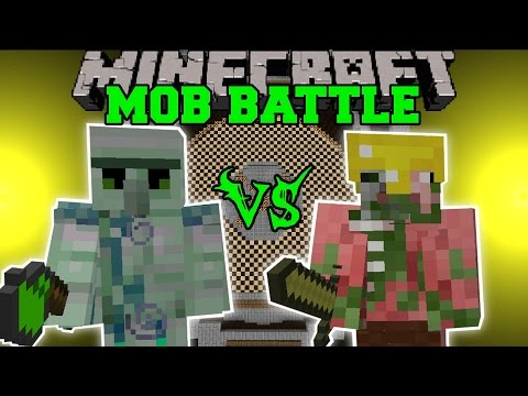 Emerald Hulk Vs Pigman King - Minecraft Mob Battles - Minecraft Mods video