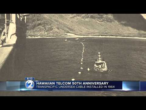 50th anniversary of first trans-Pacific undersea cable celebrated