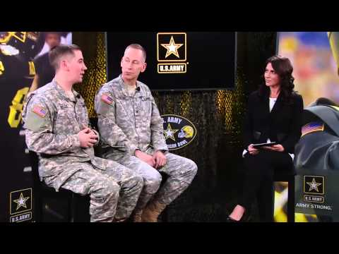 Jenny Dell, NFL reporter for CBS, sits down with Army leadership and Soldiers to talk about the elite teamwork operation underway here at the 2015 U.S. Army ...