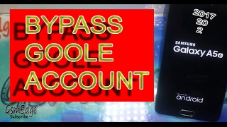 Samsung Galaxy A5 ⑥ How To Bypass Google Account