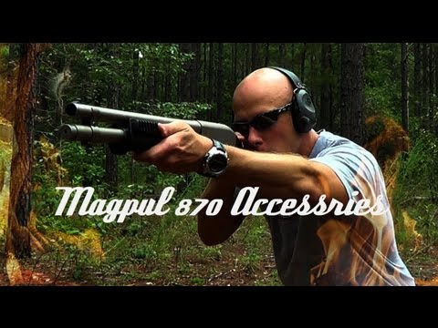 Magpul 870 SGA FDE Stock & Forend Review (HD)