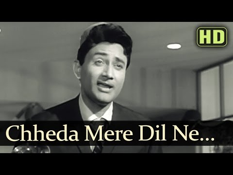 Chheda Mera Dil Ne Tarana - Dev Anand - Asli Naqli - Mohd Rafi...