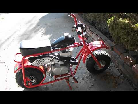 Update Video on the Doodle-Zuki Minibike Project