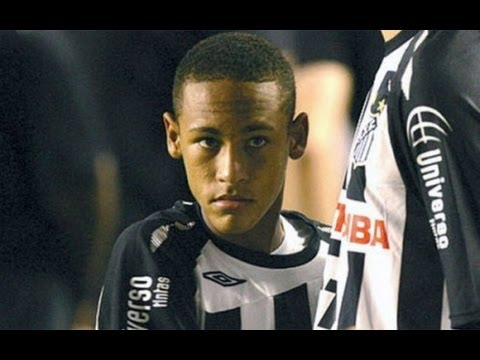 Asi jugaba Neymar cuando tenia ficha del Real Madrid | Amazing Player HD