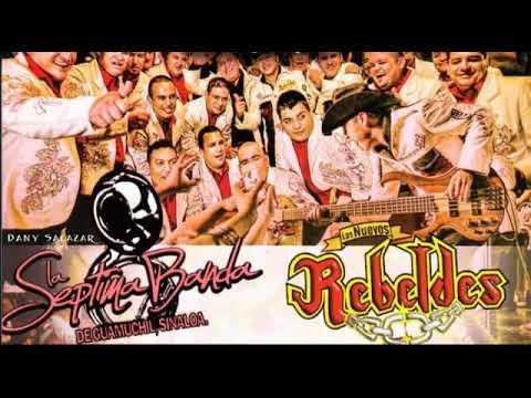 Los Nuevos Rebeldes Feat. La Septima Banda - El Ahijado Consentido (En Vivo 2012)