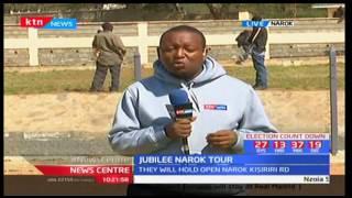 Jubilee Narok tour: They will hold open Narok Kisiriri Road