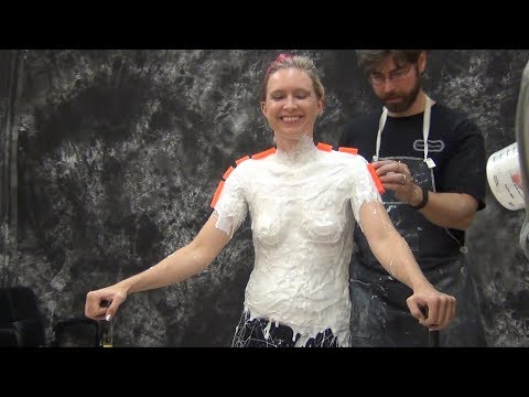 Lifecasting Tips: Gel-25 body mold with keys