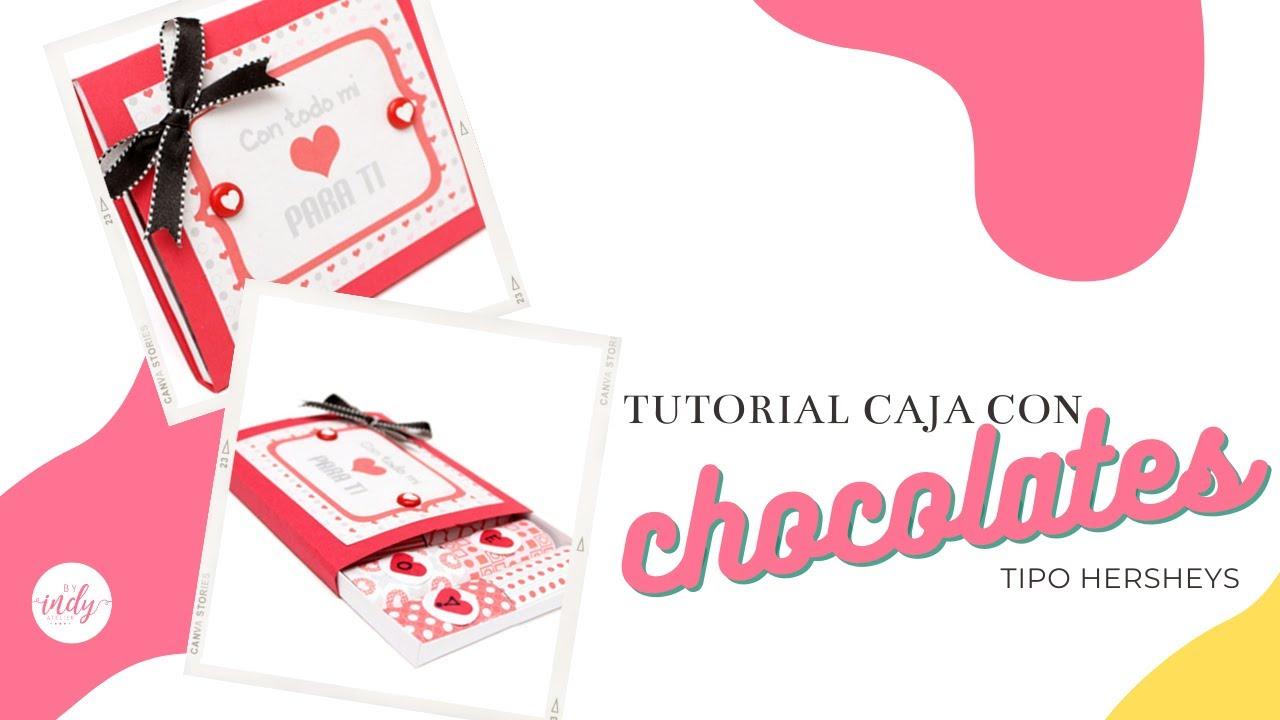 Caja con chocolates san valentin regalo 14 de febrero - Regalos de san valentin para el ...