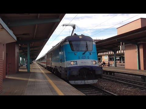 "Mrazák 380.013 - EC 173 ,,Hungaria"" - Pardubice hl.n. - 27.10.2019"