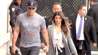 Dane Cook And Beautiful Girlfriend Kelsi Taylor Hold Hands On Valentine's Day