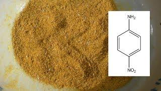 Synthese von p-Nitroanilin