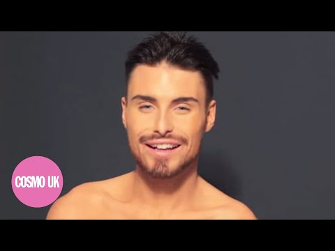 Rylan Clark on his Cosmo naked centrefold thumbnail
