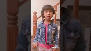 Dubsmash by a child#I mean I have a crush on this video