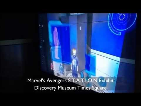 Child Transforms into Iron Man ~ Marvel's Avengers S T A T I O N Exhibit
