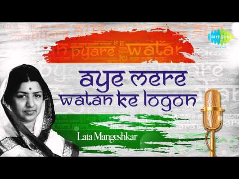 Aye Mere Watan Ke Logon (original Version) - Celebrating 51 Years - Sung By Lata Mangeshkar video