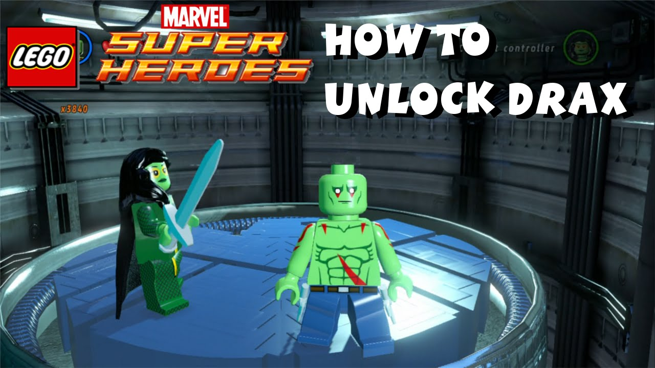 Lego Marvel Gamora And Gamora Lego Marvel