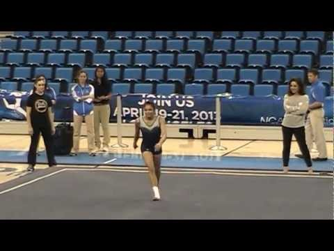 Vanessa Zamarripa Floor - 2012-13 Meet the Bruins
