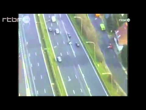 Craziest police chase EVER!! European gangsters shoot at police helicopter from moving vehicle!!!