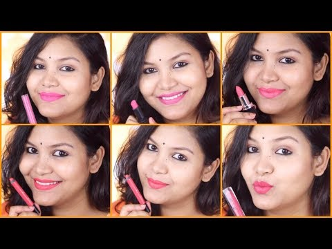 Top 8 pink lipstick for Indian skin tone /INDIANGIRLCHANNEL TRISHA