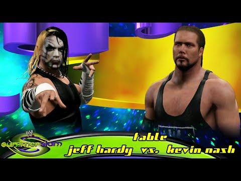 Wwe 2k15 Jeff Hardy Vs Kevin Nash Table Match Ps4 video