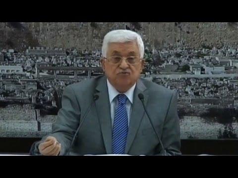 Abbas sobre Gaza: 'esto es un genocidio'