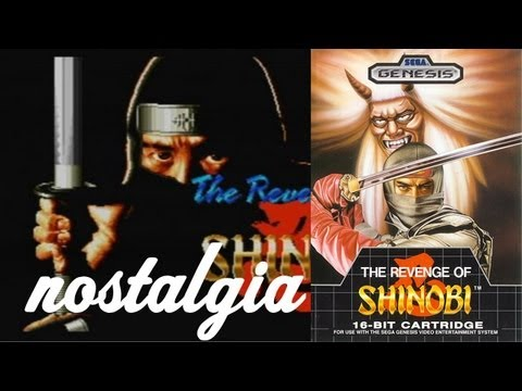 the revenge of shinobi - nostalgico